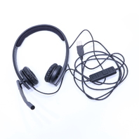 LOGITECH A-00064 881-000228 USB HEADSET HEADPHONES WITH MICROPHONE
