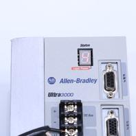 ALLEN BRADLEY 2098-DSD-020 SERVO DRIVE ULTRA3000 2 KW 18 AMP