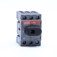 NEW ABB OT40F3 DISCONNECT SWITCH 40AMP 3 POLE