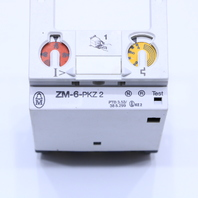 KLOCKNER MOELLER ZM-6-PKZ2 OVERLOAD THERMAL TRIP MODULE 4-6 AMP 575V