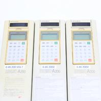 QTY. (1) MITSUBISHI FR-A220-0.4K-TF 0.5HP 5.2AMP 300-230VAC