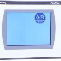 "'' ALLEN BRADLEY 2711C-T6M B OPERATOR INTERFACE PANELVIEW C600 6"" TOUCHSCREEN"