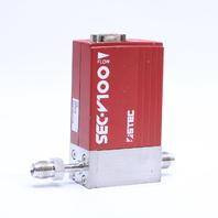 '' HORIBA STEC SEC-V120DM MASS FLOW CONTROLLER GAS HE