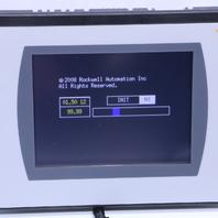 "'' ALLEN BRADLEY 2711C-T6T A OPERATOR INTERFACE PANELVIEW T600 5.7"" TOUCHSCREEN"