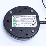 MOTOROLA WPLN4137BR BATTERY CHARGER BASE W/ AC POWER SUPPLY