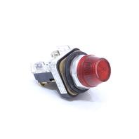 * ALLEN BRADLEY 800T-Q10 T RED PILOT LIGHT