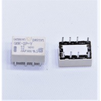 NEW QTY. (1) OMRON G6K-2P-Y 12VDC SIGNAL RELAY