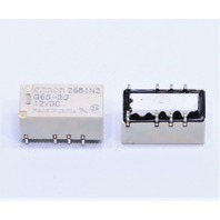 NEW QTY. (10) OMRON G6S-2G 12VDC SIGNAL RELAY