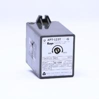 KOYO APT-123T10-G PROXIMITY SWITCH CONTROL UNIT