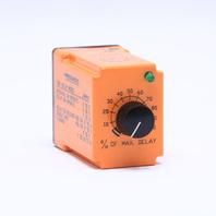TC DIVERSIFIED ELECTRONICS TDU-120-ADA UNI TIMER RELAY