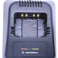 MOTOROLA LOT OF (2) NTN1171A BATTERY CHARGERS