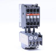 ABB A9-30-10 CONTACTOR 24V COIL W/ TA25 DU OVERLAY RELAY