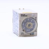 * FUJI ST3 ST3P A-F-UL TIMER 0-12 HOURS, 24VDC, 5AMP, 240VAC