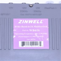 ZINWELL WB616 WIDE-BAND 6x16 MULTISWITCH