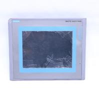SIEMENS 6AV6 643-0CD01-1AX2 OPERATOR INTERFACE MP277-10 TOUCH V2