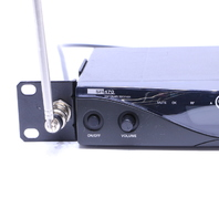 AKG SR470 STATIONARY RECEIVER RF BAND VIII 570.100-600.500 MHz