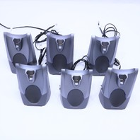 LOT OF (6) PLANTRONICS CS50 MAIN CHARGING BASE ONLY