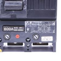 * GE TJK636F000 600 AMP TRIP 3 POLE 600V CIRCUIT BREAKER