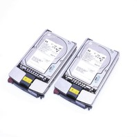 LOT OF (2) HP BD14685A26 146.8GB 10000RPM ULTRA320 SCSI HARD DRIVE