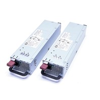 LOT OF (2) HP DPS-600PB POWER SUPPLY P/N 321632-001