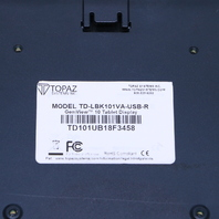 TOPAZ TD-LBK101VA-USB-R GEM VIEW 10 TABLET DISPLAY #2