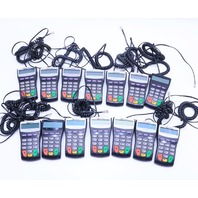 LOT OF (14) VERIFONE PINpad 1000SE P003-180-02-R-2 CREDIT DEBIT CARD TERMINALS