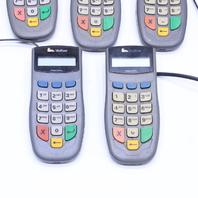 LOT OF (5) VERIFONE PINpad 1000SE P003-160-02 CREDIT DEBIT CARD TERMINALS