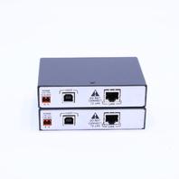 LOT OF (2) EXTRON USB EXTENDER TX