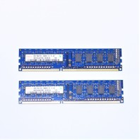 HYNIX QTY.(2) 2GB 1RX8 PC3-10600U-9-11-A1 DESKTOP MEMORY