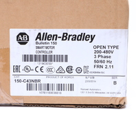 * 2019 NEW SEALED ALLEN BRADLEY 150-C43NBR B 2.11 SMART MOTOR CONTROLLER