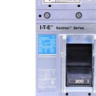 * ITE SIEMENS FXD63B200 200 AMP 600VAC CIRCUIT BREAKER W/ LOCK OUT