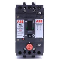`` ABB 3A MOTOR CIRCUIT PROTERCTOR BREAKER MCP LM522481 3 POLE 480VAC