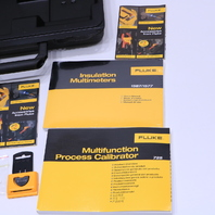 FLUKE 727 MULTIFUNCTION PROCESS CALIBRATOR CARRYING CASE ONLY