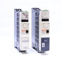 LOT OF (2) SCHNEIDER ELECTRIC ATV320U15N4B ATV32HU15N4 1.5KW 2HP DRIVE