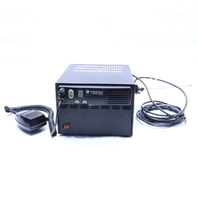 MOTOROLA CM200 RADIO AAM50RPC9AA1AN HMN3596A MIC ASTRON SL-15SM/GTX/M1225 POWER SUPPLY