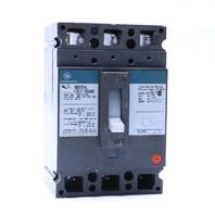 GENERAL ELECTRIC GE TED134100 CIRCUIT BREAKER 100 AMP 3 POLE 480VAC