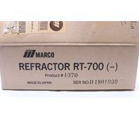 * MARCO RT-700 REFRACTOR PHOROPTER