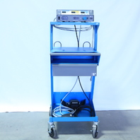 * VALLEYLAB FORCE FX C ELECTROSURGICAL GENERATOR, PEDALS, CART