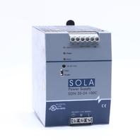 EMERSON SOLA SDN 20-24-100C POWER SUPPLY