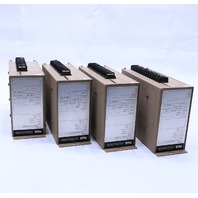 * LOT OF (4) RIS 1396 XSC-1396-840555 CURRENT/VOLTAGE TRANSMITTER 4-20MA OUTPUT