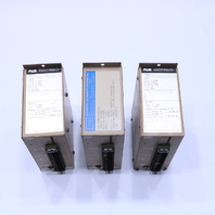 * LOT OF (3) RIS 1396 XSC-1396-840555A CURRENT/VOLTAGE TRANSMITTER 4-20MA OUTPUT