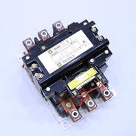 * SQUARE D 8502SG02S SIZE 5 MAGNETIC CONTACTOR 440-480V 50/60HZ *WARRANTY* #3
