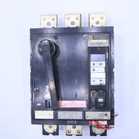 * SQUARE D PEF361600LIG 1600A 600V ELECTRONIC TRIP CIRCUIT BREAKER
