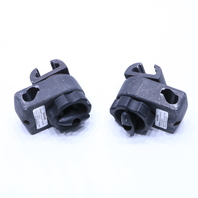 * LOT OF (2) AMATECH F-TCP2 3-WAY ADJUSTMENT CLAMP OR TABLE