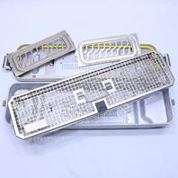 * AESCULAP STERILIZATION TRANSPORTATION STORAGE SCOPE CASE TRAY JK020 JF435R