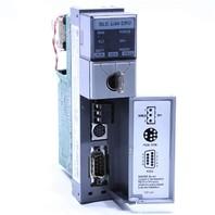 * ALLEN BRADLEY 1747-L543 C SLC 5/04 64K DH+ FW 11 CPU PROCESSOR UNIT