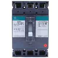 * GE GENERAL ELECTRIC TED134050 50A 600VAC 3 POLE CIRCUIT BREAKER