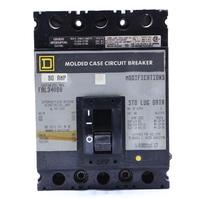 * SQUARE D FAL34090 MOLDED CASE CIRCUIT BREAKER 90A 480VAC