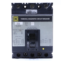 * SQUARE D FAL34090 THERMAL MAGNETIC CIRCUIT BREAKER 35A 240VAC