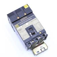 * SQUARE D FC34100 MOLDED CASE CIRCUIT BREAKER 100A 480VAC